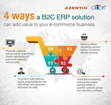 4 ways a B2C ERP solution can add value to your e-commerce business