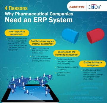 4 Reasons Why Pharmaceutical Companies Need an ERP System