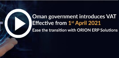 Oman government implements new VAT regime starting from 1st April 2021