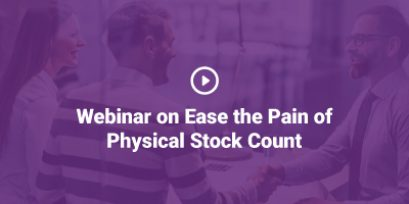 Ease the Pain of Physical Stock Count Webinar