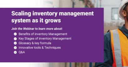 """<b style=""""color:#d95214;"""">Scaling inventory management system as it grows</b>"""