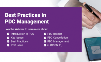 """<b style=""""color:#d95214;"""">Best Practices in PDC Management</b>"""